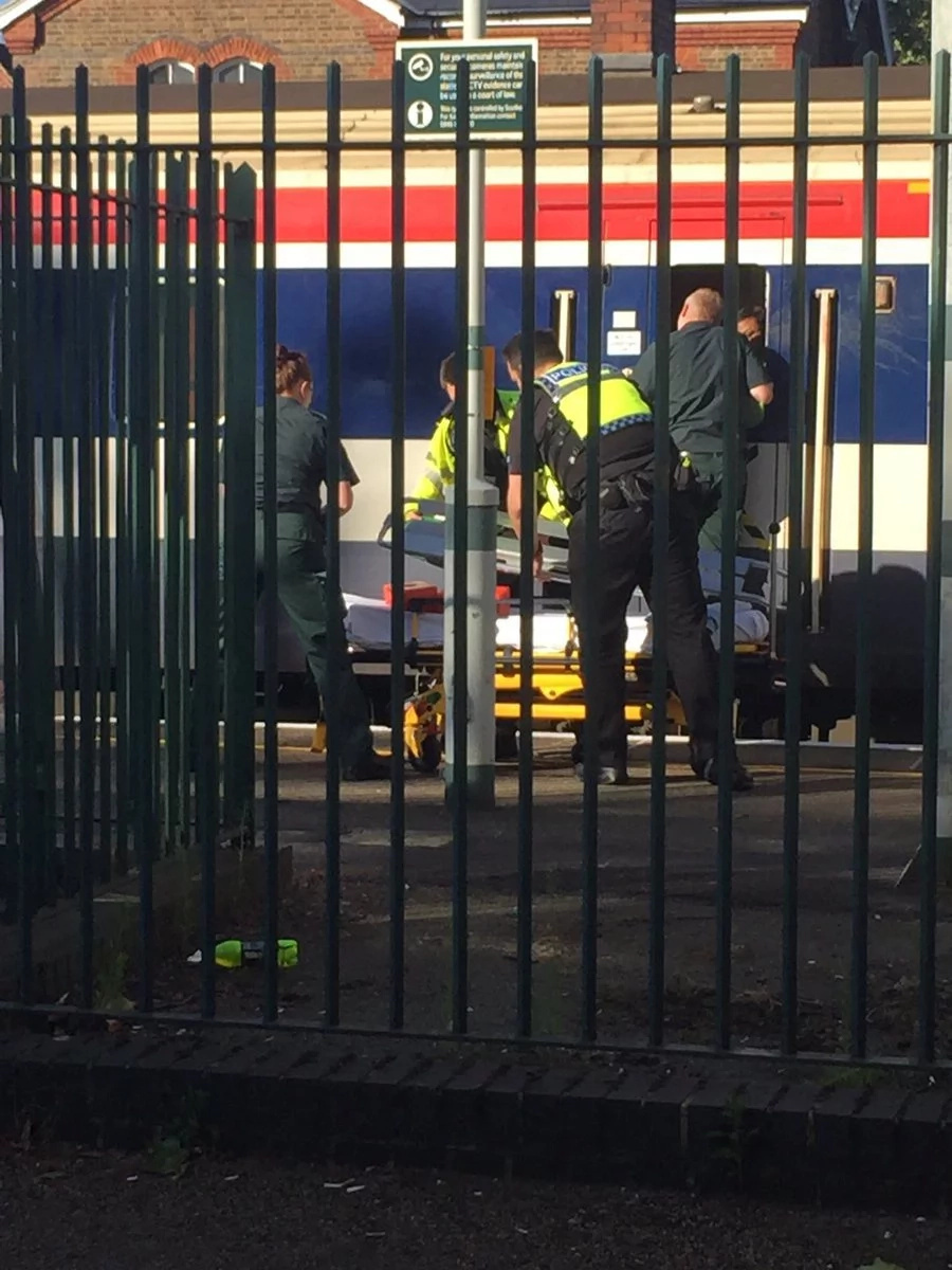 The man was decapitated by train in shocking incident