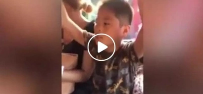 This talented boy from Cebu was captured singing inside a passenger jeepney...this video will surprise you!