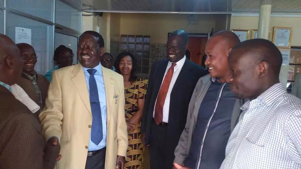 Raila embarks on presidential campaigns in Taita Taveta