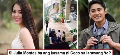 Huli kayo? Controversial photo may prove Coco Martin and Julia Montes meet secretly behind cameras