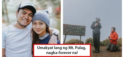 Sa Mt. Pulag may forever! Man proposed on top of Mt. Pulag in viral engagement video