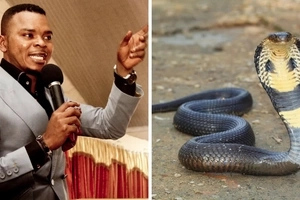 I can turn into a snake - popular bishop reveals