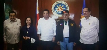 JUST IN – PH leaders unite: Duterte, 4 former presidents join NSC meeting