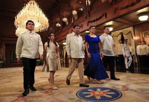 Malacañang welcomes a stylish Inday Sara