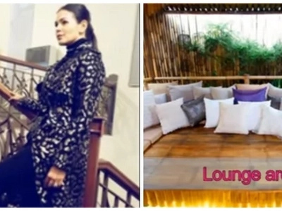 Iza Calzado's modern house in Quezon City is absolutely classy & eclectic! See it here!
