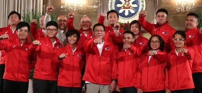 Duterte to PH Olympians: 'Just try your best'