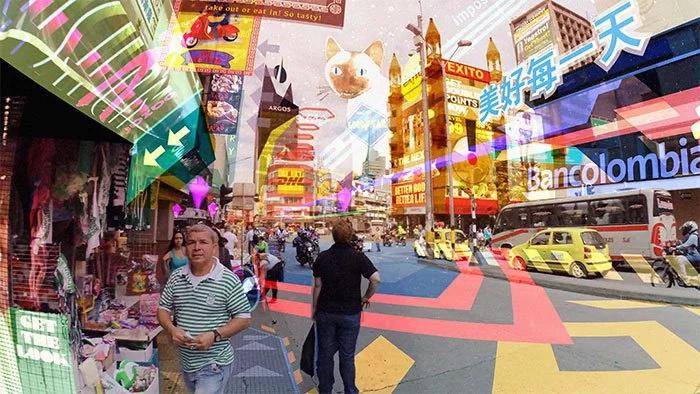 Medellín en la realidad virtual: Hyper-Reality