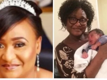 Woman who married in 2014 gives birth to a super cute boy and she is 56