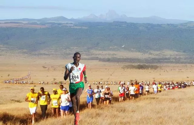 Eliud kipchoge to launch his Rio Olympics at Lewa Marathon