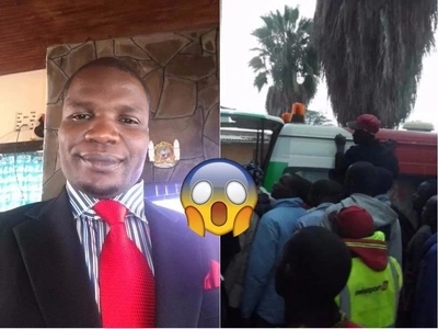 Embakasi East aspirant in a coma after he was poisoned at a Rally in Nairobi