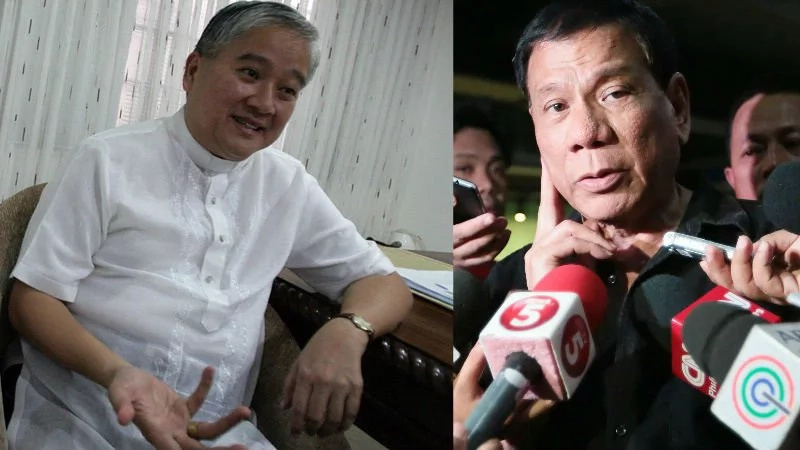 Archbishop explains why Church is silent amid Duterte's rants