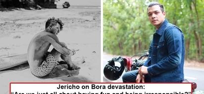 Di na kaya ng damdamin niya! Jericho Rosales calls out government officials to practice 'responsible tourism' after seeing Boracay devastation