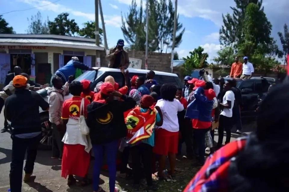 Evans Kidero 'awakaribisha' wafuasi wa Jubilee 'Canaan'