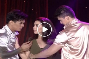 Yassi, Rayver, Zeus, and Maja heat up ASAP with their dance number of 'Versace on the Floor'