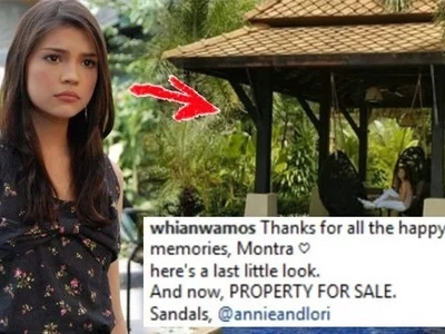 Namumulubi ba siya? Rhian Ramos is selling this beautiful family resort. Any takers?