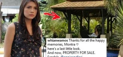 Namumulubi ba siya? Rhian Ramos is selling this beautiful family resort. Any takers?