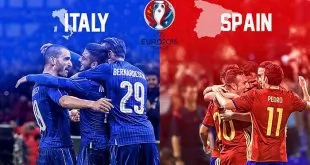 It's a blood-stained rivalry as Spain tackle Italy