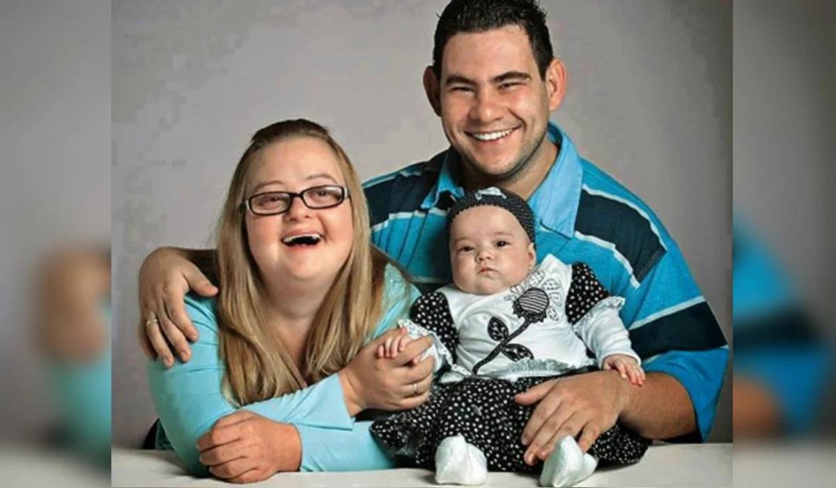 Milagro: los padres de esta niña tienen síndrome de Down