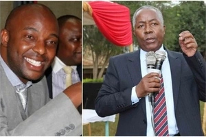 "DRAMA as Senator and his rival clash at the ""House of God"""