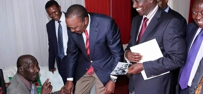 Happy Reunion: Uhuru Meets 101-Year-Old Family Driver