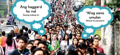 6 thoughts Filipino commuters have whenever they travel in the morning