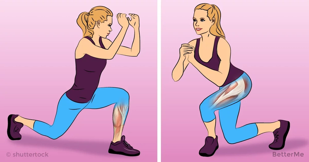 8 easy exercises for legs that you can do, while watching a TV