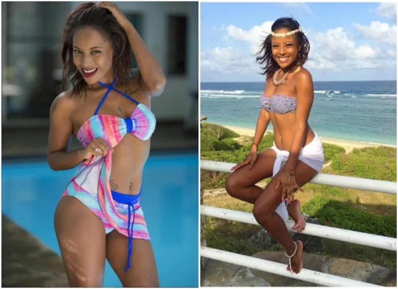 KTN presenter looks fine in Bikini but is she 18 yet?
