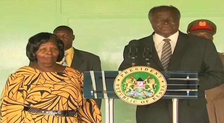 Former first lady Lucy Kibaki is dead