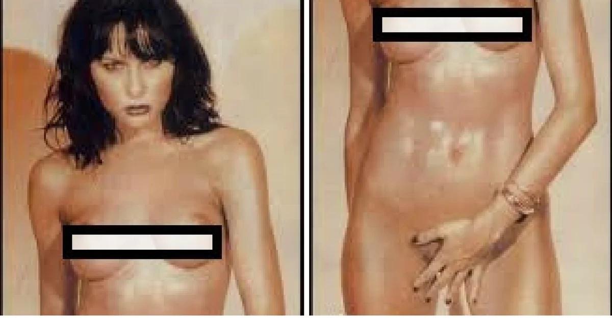 melania nude pics