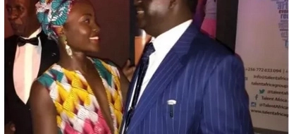 Larry Madowo 'exposes' Lupita Nyongo for the snob she is
