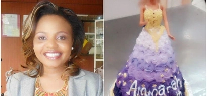 Uchumi Supermarket gives news anchor headache after spoiling daughter's birthday