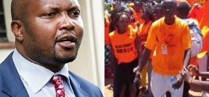 Moses Kuria atishia 'kuwalima' mijeledi wafuasi wa ODM