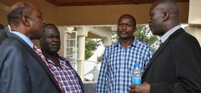 Majambazi wavamia nyumba ya gavana wa ODM (Picha)