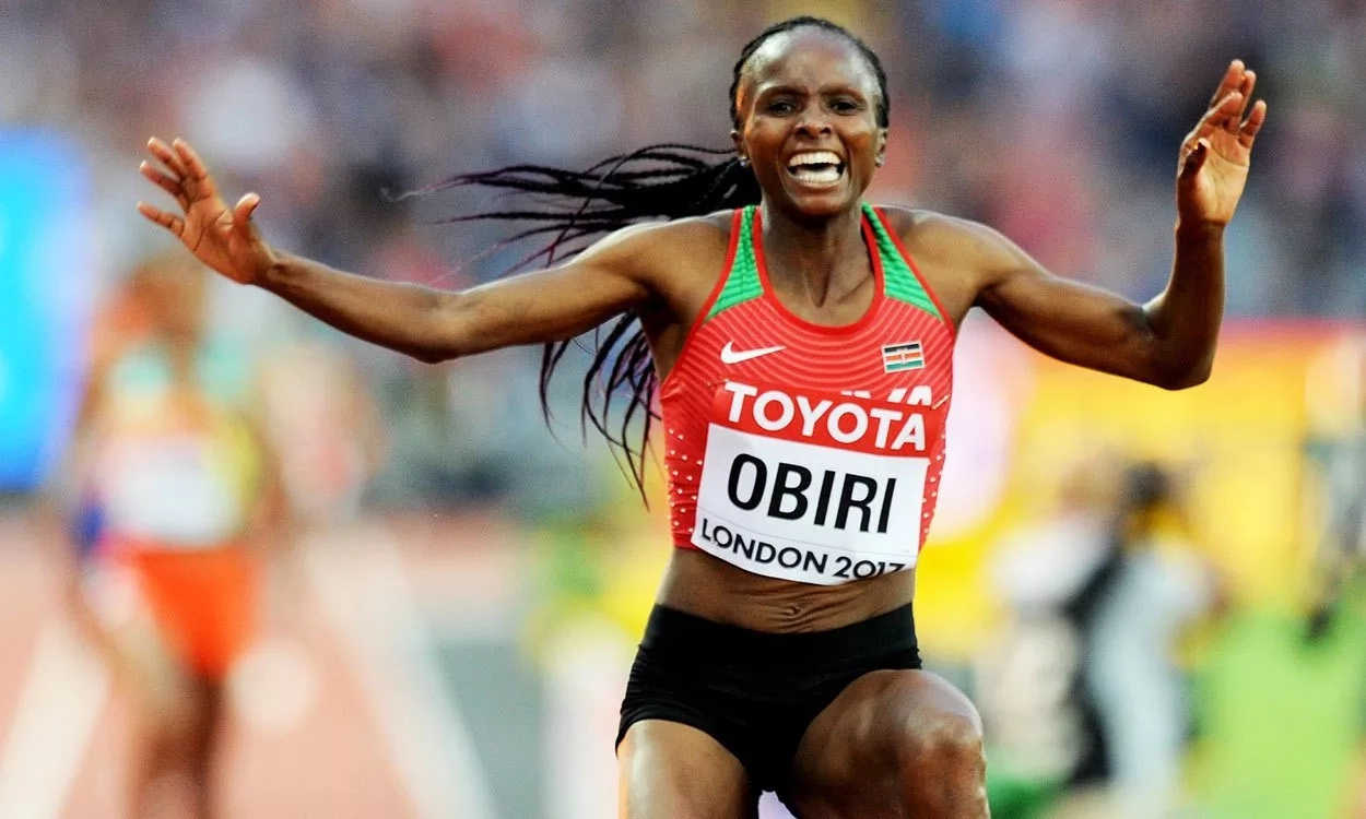 Uhuru congratulates Kenyan athletes as Manangoi and Obiri's golds take Kenya to second place behind USA