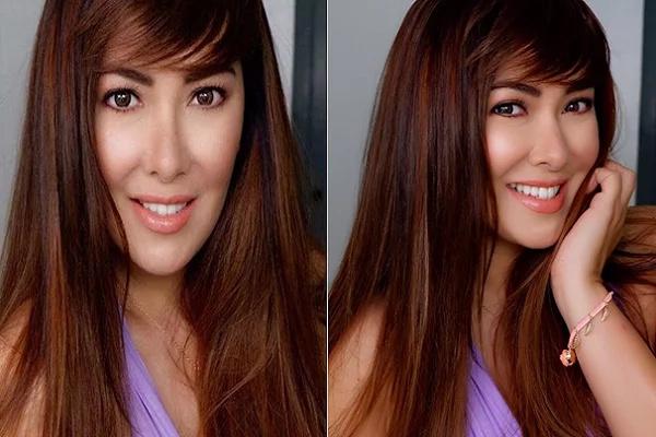"Ruffa Gutierrez rocks her new ""bagets"" hairstyle"