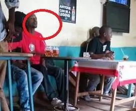 Kenyans attack popular artist after caught drinking cheap liquor (Photos)