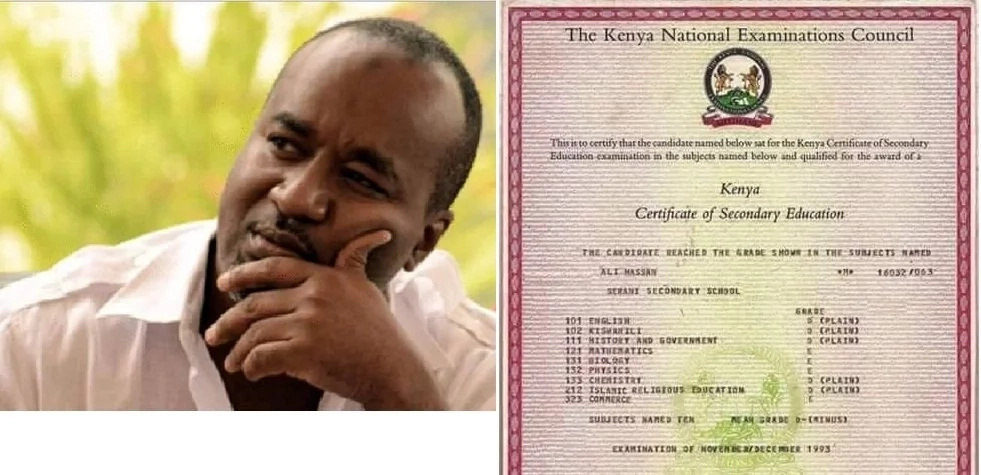 School puts to rest the controversy surrounding Joho's KCSE results