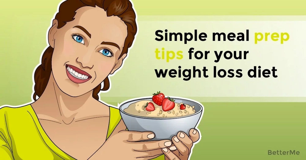 Simple meal prep tips for your weight loss diet