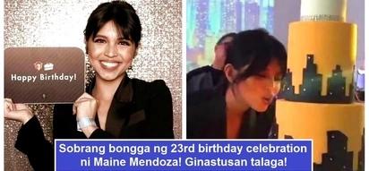 Ginastusan talaga ang party! Epic photos & videos of Maine Mendoza's lavish 23rd birthday celebration