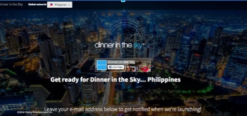 Are you ready to dine mid-air? Dinner in the Sky is coming to Manila!