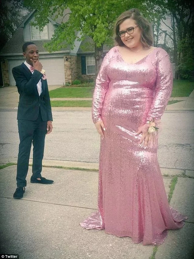 While the couple enjoyed their prom bliss, some on Twitter were fat shaming Madison