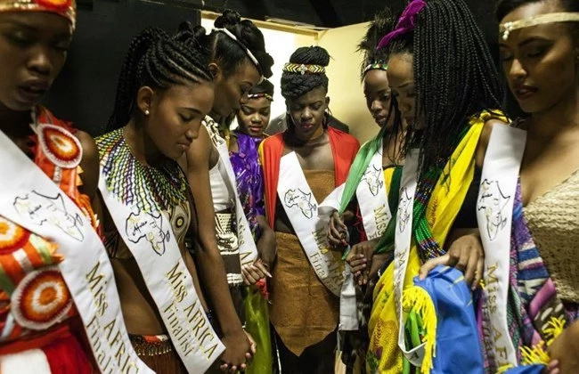 Ghanaian beauty pageant wins Miss Africa 2016