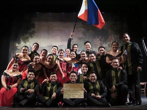 The Philippine Madrigal Singers bags another Grand Prix