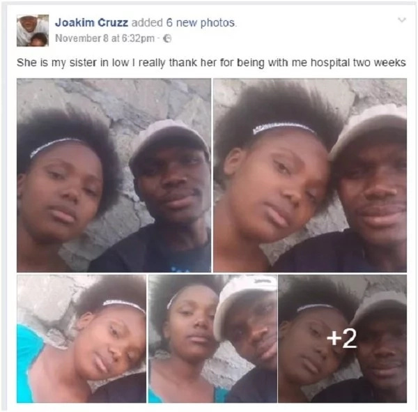 Man shocks kenyans after posting photos of steamy sex with sister-in-law