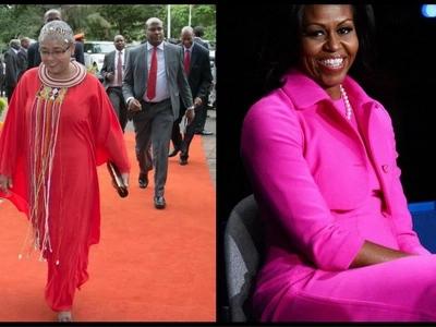 6 incredible similarities between Margaret Kenyatta and Michelle Obama