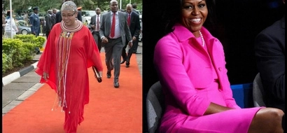 6 incredible similarities between Margaret Kenyatta and Michelle Obama