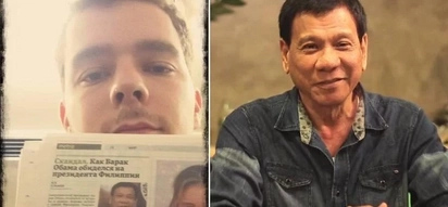 This Russian netizen was 'amazed' with Duterte after reading newspaper feature