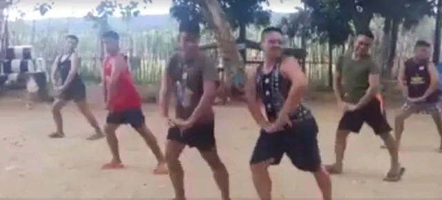 PH soldiers jumps in to funny dance challenge