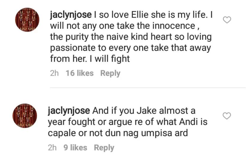 """Jake, ubos na pasensiya ko sa inyo."" Jaclyn Jose lambasts Jake Ejercito, Laarni Enriquez on Instagram"