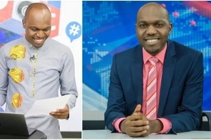 """Larry Madowo in an 'accident' only a day after announcing his exit from """"The Trend"""""""